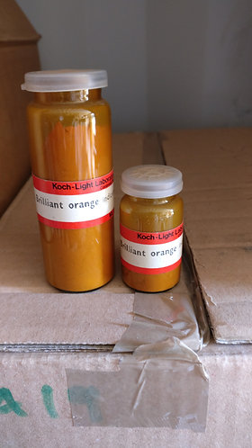 Brilliant orange C.I. 26520, pH indicator