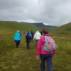Taking group out over Blencathra