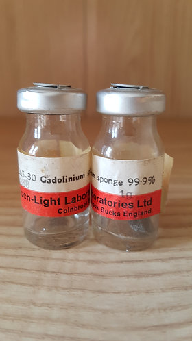 Gadolinium sponge 99.9% 1g