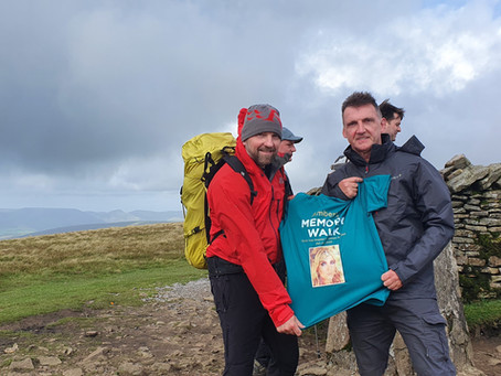 Amber's Law Yorkshire Three Peaks event