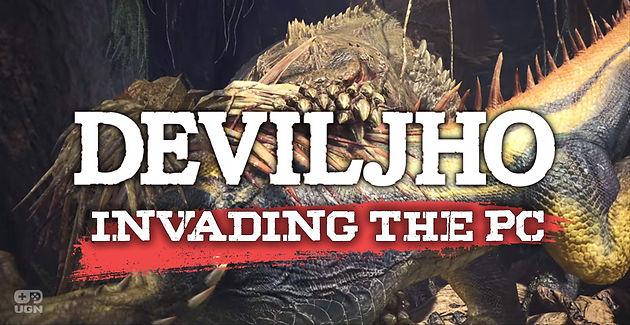 Monster Hunter: World next update on PC brings Deviljho