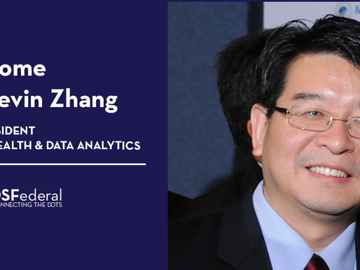 DSFederal Taps Dr. Kevin Zhang as VP of Public Health and Data Analytics
