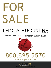 KW - Leiola Augustine - For Sale Sign-01