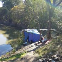 Street Outreach along Trinity River