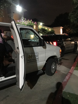 Late Night Transport for a local PD