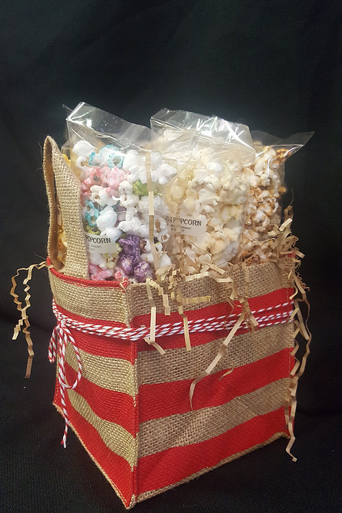 6 Pack Burlap Bag