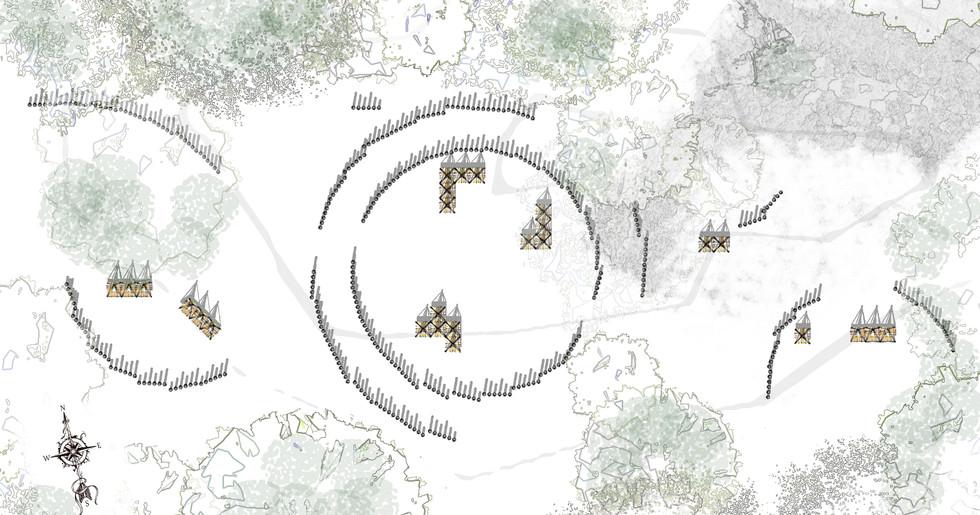 Site Plan, By William Martyn