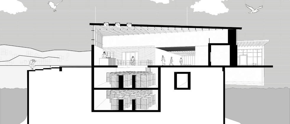 SECTIONAL STUDY: FOYER