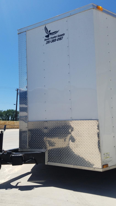 Cargo trailer after repair.