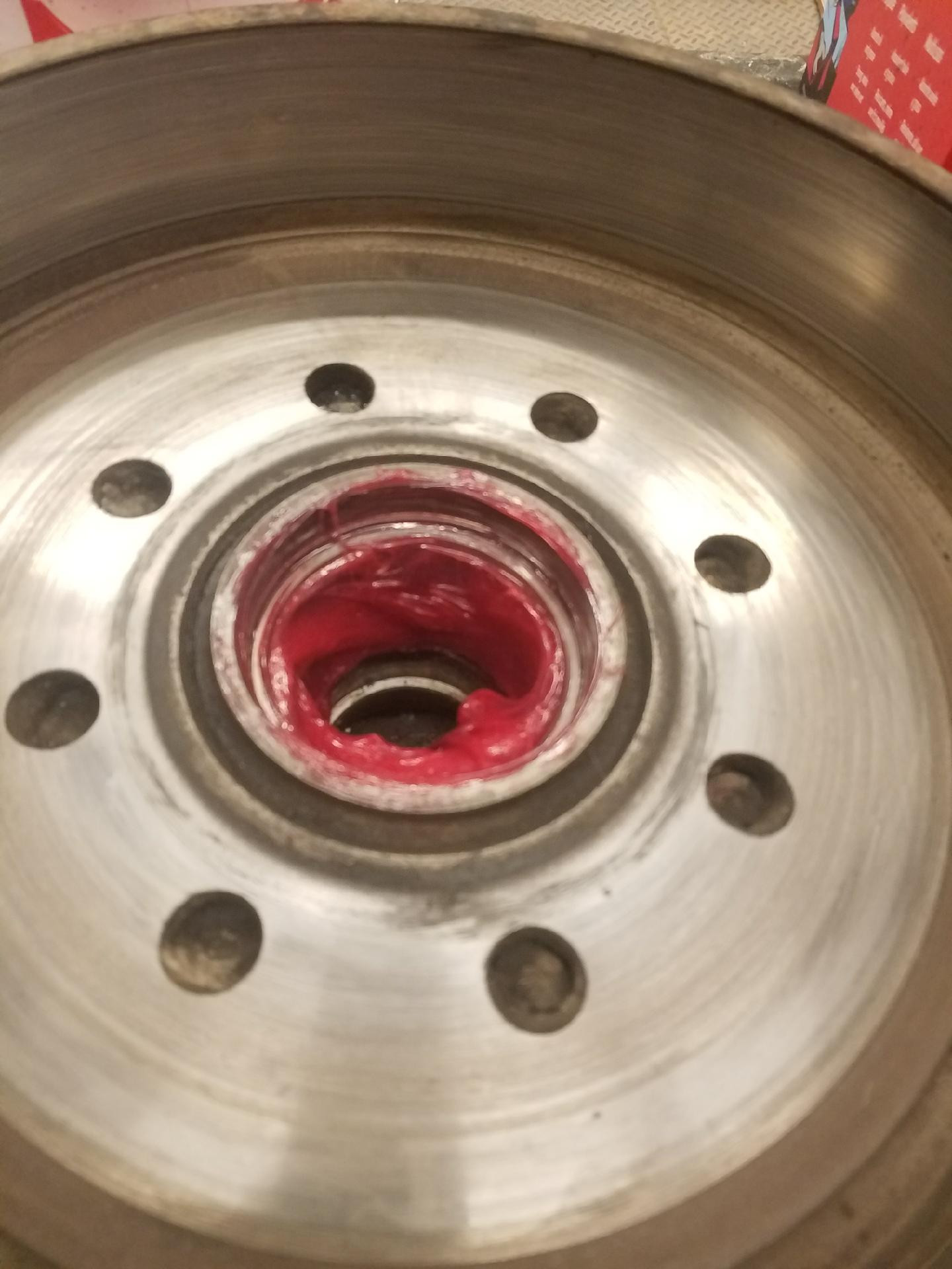 1 - 3500 lb Axle Bearing Pack