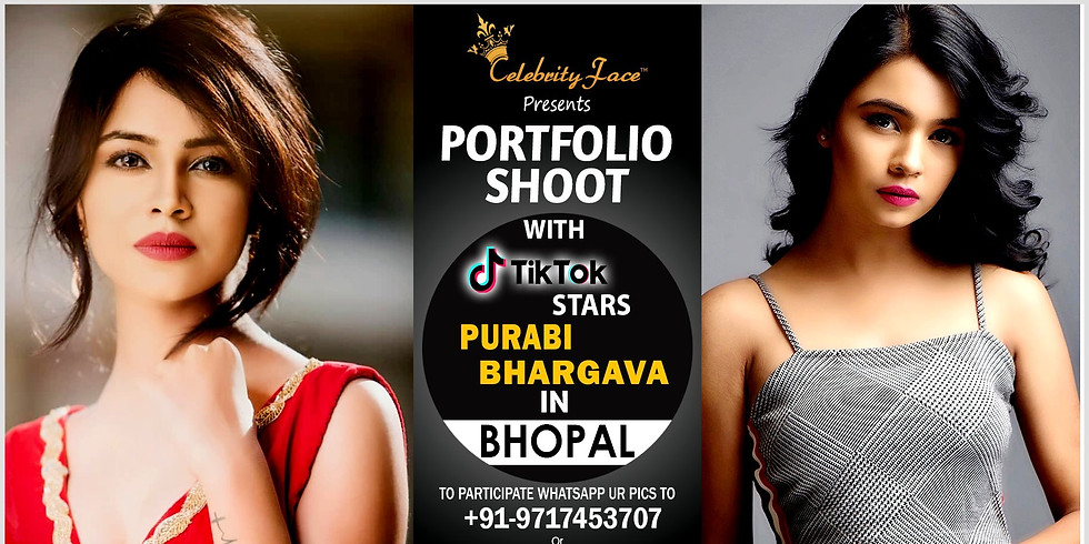 Meet Top Tik Tok Star Purabi Bhargava in Bhopal on 17th August
