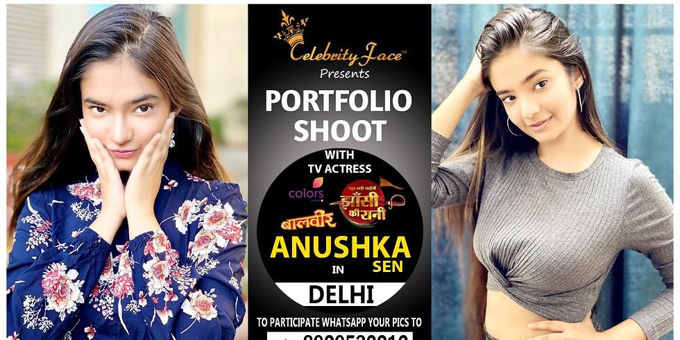 Meet Top Tv Actress  Anushka Sen  in Delhi on 31th May