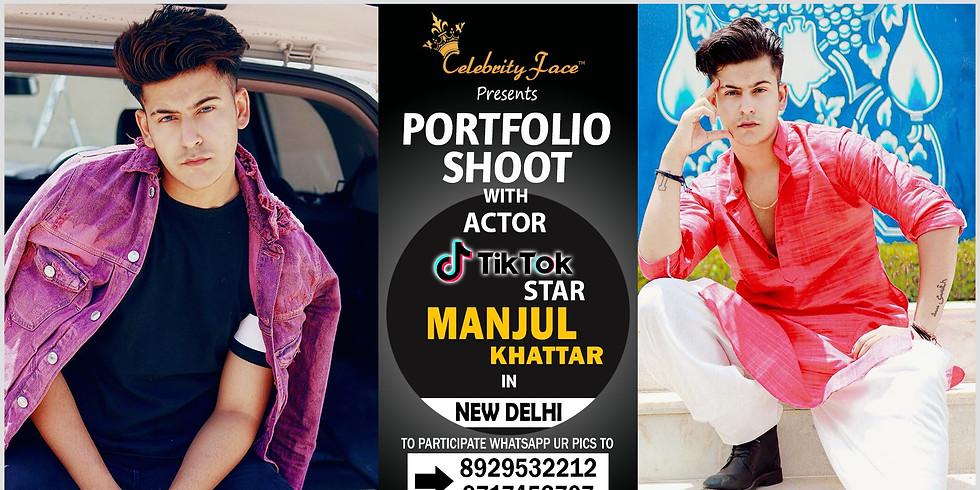 Meet Top Tik Tok Star Manjul Khattar in Delhi on 23th November