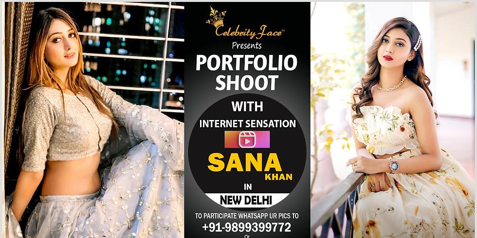 Meet Greet and PhotoShoot with Reels Star Sana Khan