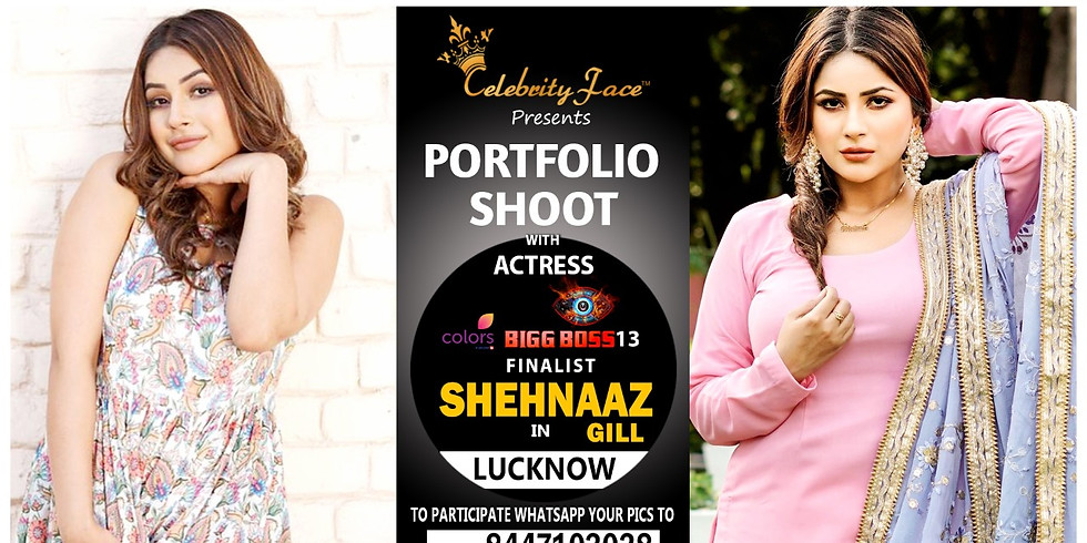 Meet Top Tv Actress  Shehnaaz Gill in Delhi on 14th June