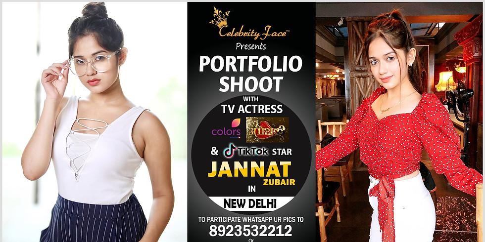 Meet Top Tv Actress Jannat Zubair in Delhi on 1st September