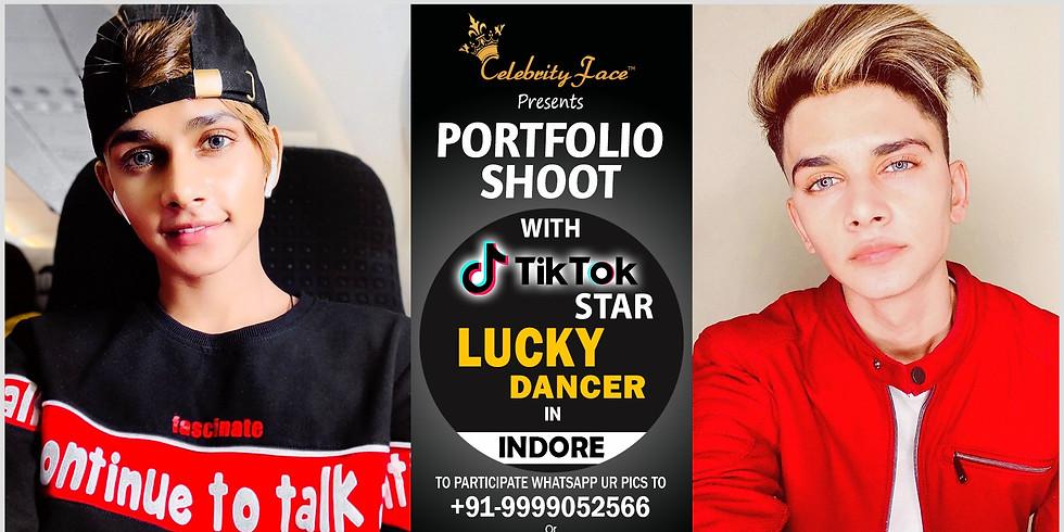 Meet Top Tik Tok Star Lucky Dancer in Indore on 14th September