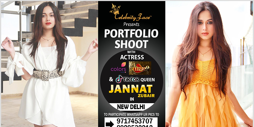 Meet Top Tv Actress  Jannat Zubair in Delhi on 29th December