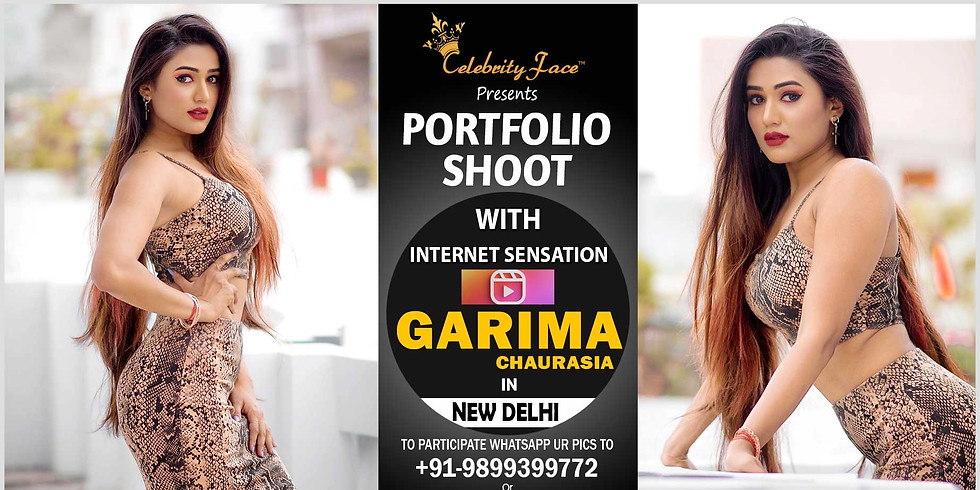 Meet Greet and PhotoShoot with Reels Moj App Star Garima Chaurasia