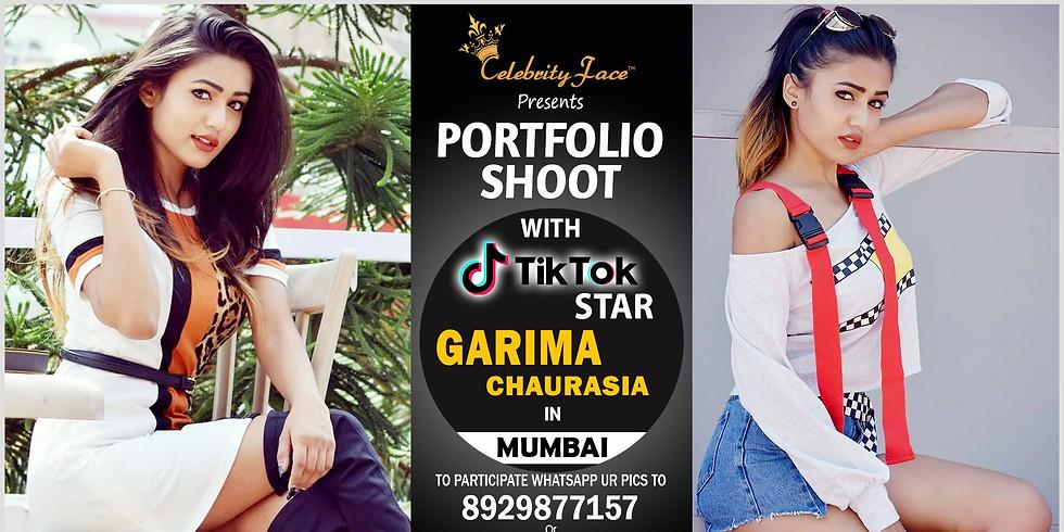 Meet Top Tiktok Star Garima in Mumbai on 28th July