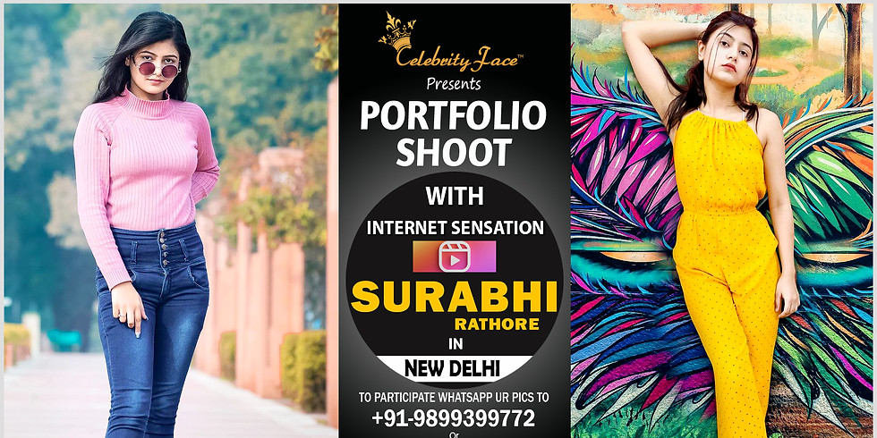 Meet Greet and PhotoShoot with Reels Moj App Star Surbhi Rathore