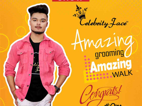 Om is Selected for the Celebrity Face Fashion Show