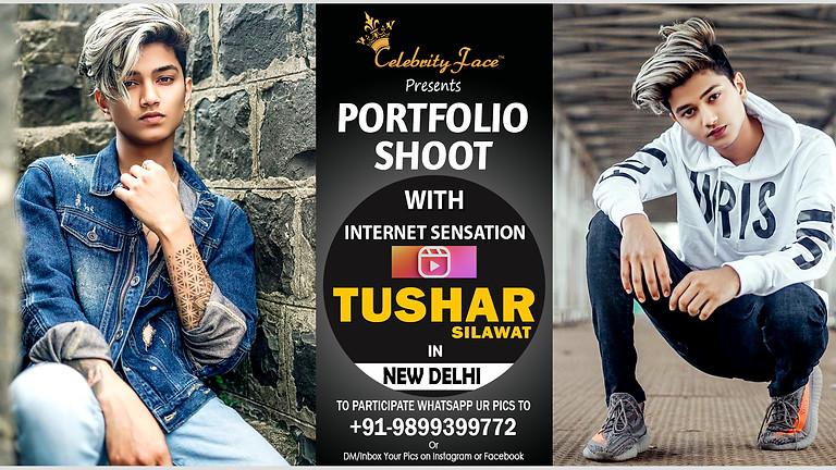 Meet Greet and PhotoShoot with Reels Moj App Star Tushar Silawat