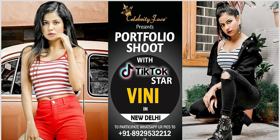 Meet Top Tik Tok Star Vini in Delhi on 24th August