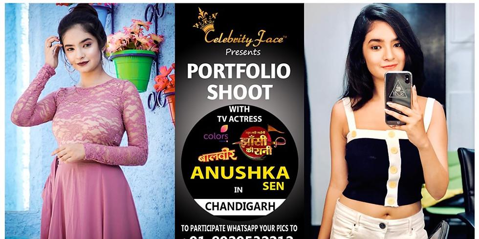 Meet Top Tv Actress Anushka sen in Chandigarh on 11th August