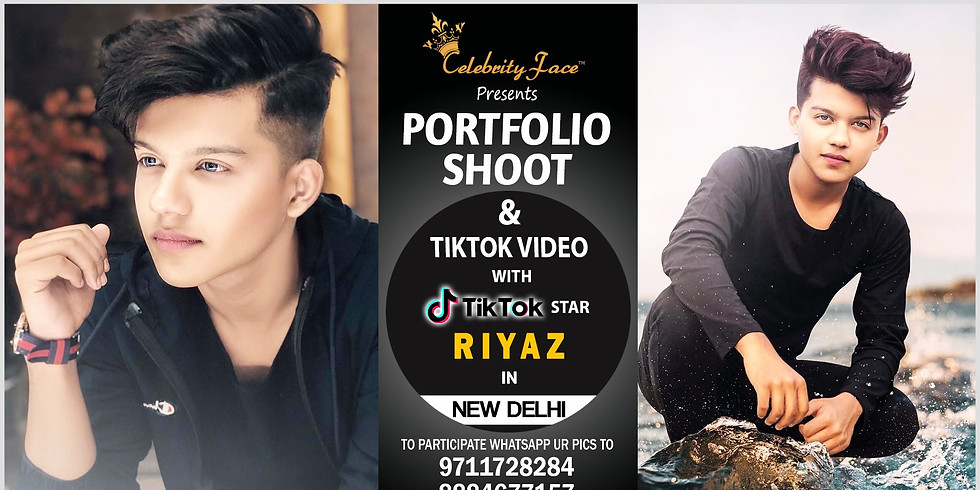 Meet Top Tik Tok Star Riyaz in Delhi on 31th August