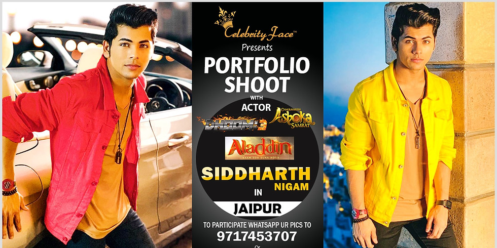 Meet Top Tv Actor Siddharth Nigam in Jaipur on 21th September