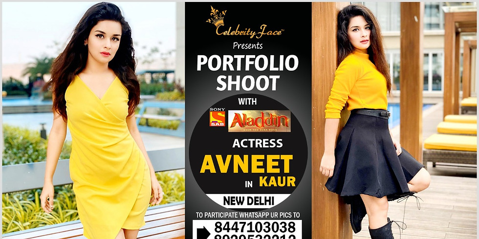 Meet Top Tv Actress  Avneet Kaur in Delhi on 5th April