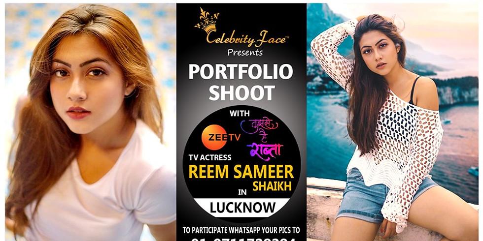 Meet Top Tv Actress Reem Sameer in Lucknow on 22th September