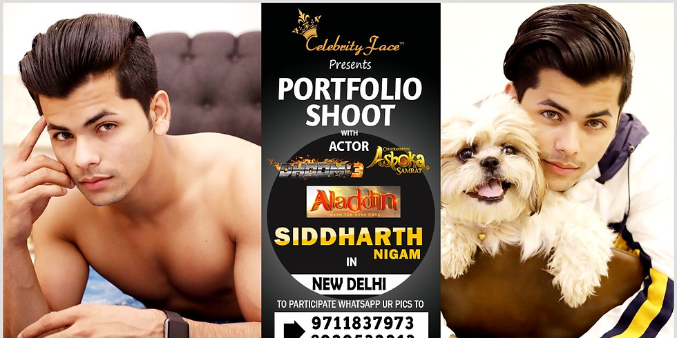 Meet Top Tv Actor Siddharth Nigam  in Delhi on 15th March