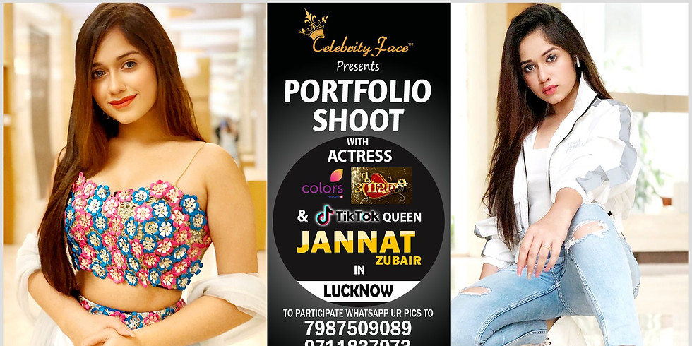 Meet Top Tv Actress Jannat Zubair  in Lucknow on 15th December