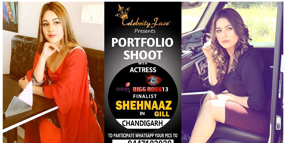 Meet Top Tv Actress  Shehnaaz Gill in Delhi on 23th May