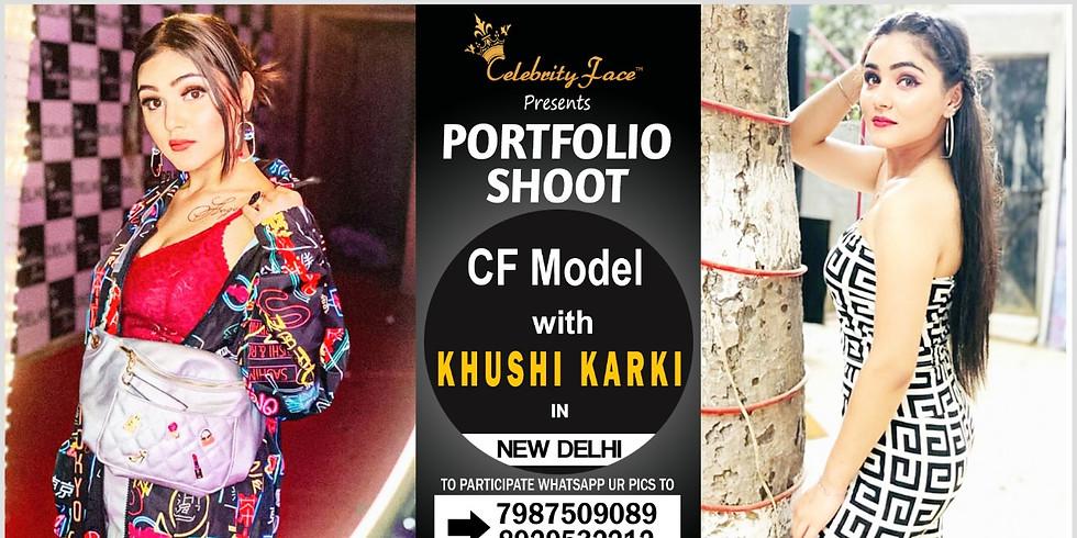 Meet Celebrity Face Top Model Khushi Karki On 29th December