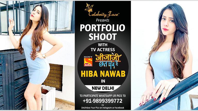 Meet Greet and PhotoShoot with Tv Actress Hiba Nawab