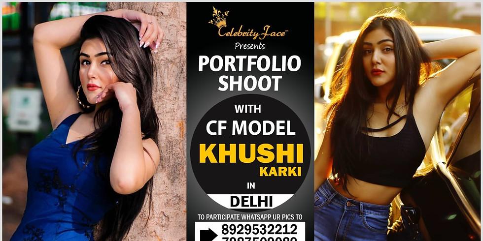 Meet Celebrity Face Top Model Khushi Karki On 23th February