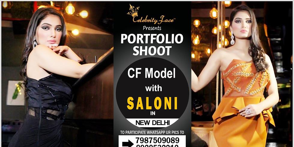 Meet Celebrity Face Top Model Saloni On 29th December