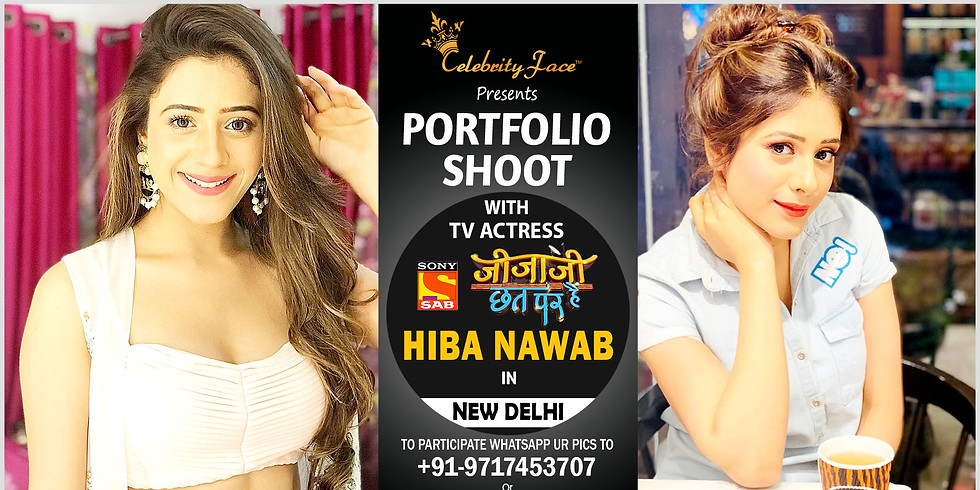 Meet Top Tv Actress  Hiba Nawab  in Delhi on 19th January
