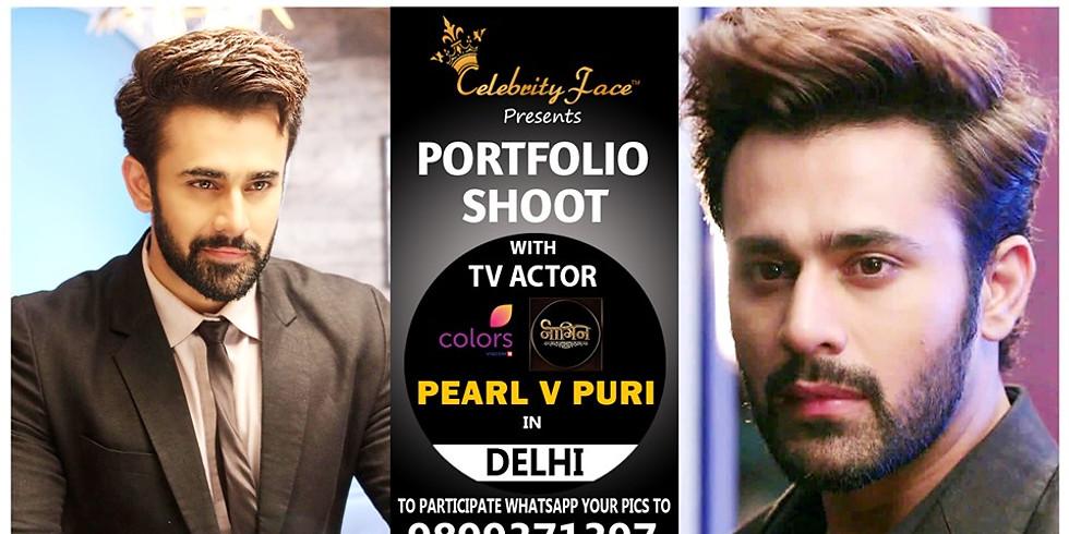 Meet Top Tv Actor Pearl V Puri in Delhi on 12th October