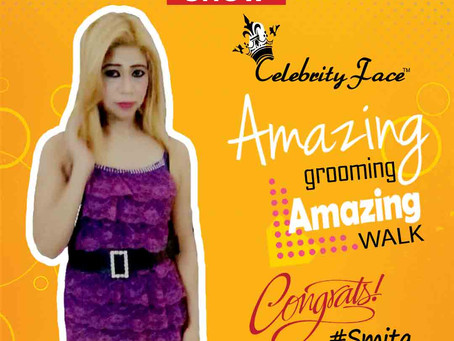 Smita is Selected for the Celebrity Face Fashion Show