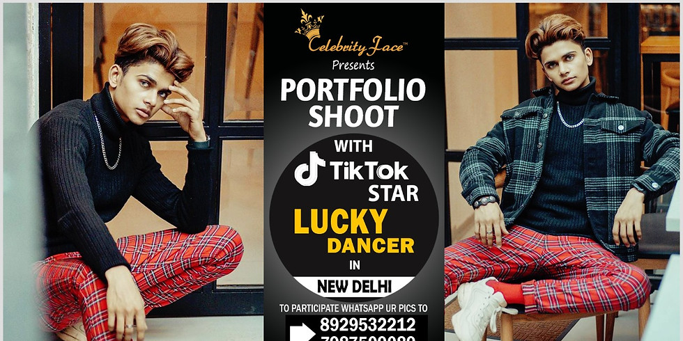 Meet Top Tik Tok Star Lucky Dancer in Delhi on 08th March