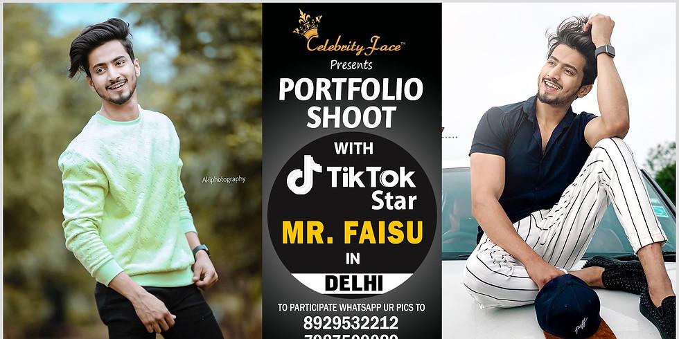 Meet Top Tik Tok Star Faisal Shaikh in Delhi on 08th December