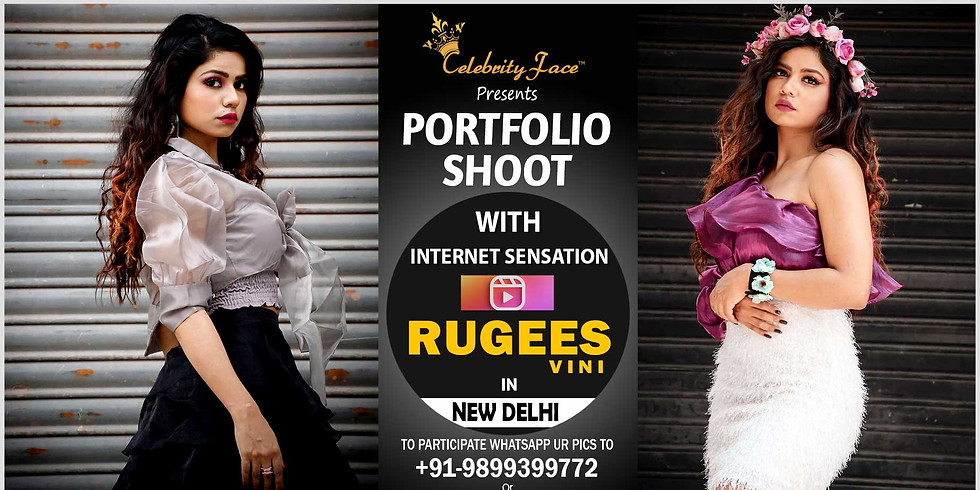 Meet Greet and PhotoShoot with Reels Moj App Star Rugees Vini