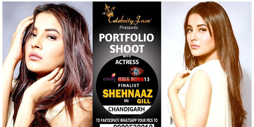 Meet Top Tv Actress  Shehnaaz Gill in Chandigarh on 6th June
