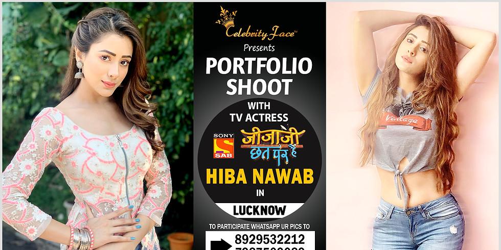 Meet Top Tv Actress  Hiba Nawab  in Lucknow on 16th February