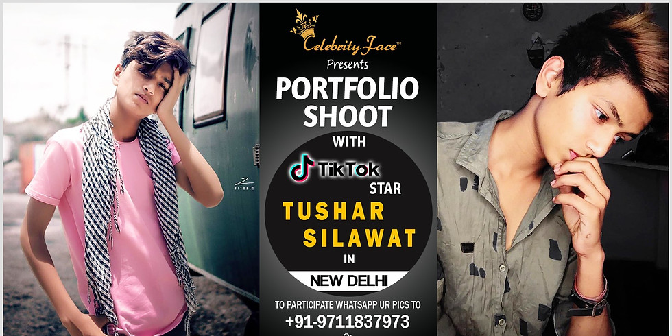 Meet Top Tik Tok Star Tushar Silawat in New Delhi on 20th July