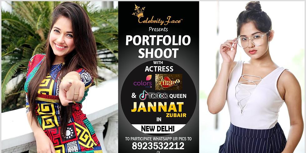 Meet Top Tv Actress  Jannat Zubair in Delhi on 24th November